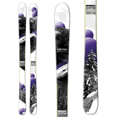 Salomon Rockette 90 Skis - Women's 2013