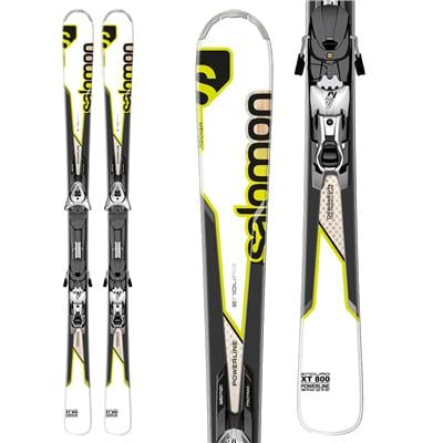 Salomon Enduro XT 800 Skis + Z12 Bindings 2013