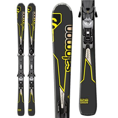 Salomon Enduro RXT 800 Skis + Z12 Bindings 2013