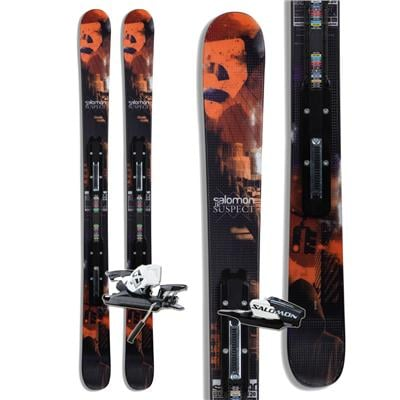 Salomon Suspect Jr Skis + L7 Bindings - Youth - Boy's 2013