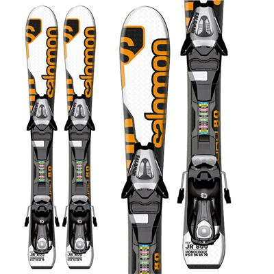 Salomon Enduro Jr 800 Skis + L7 Bindings - Youth - Boy's 2013