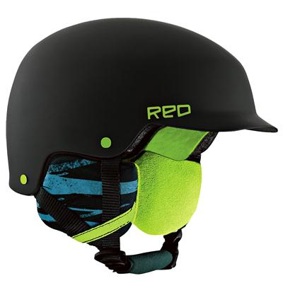 Red Defy Helmet - Kid's