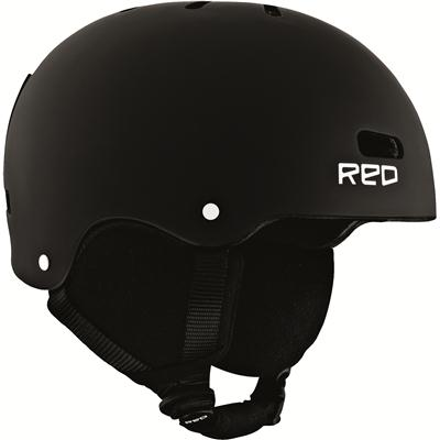 Red Trace Grom Helmet - Kid's