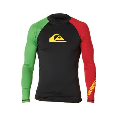Quiksilver All Time Long Sleeve Surf Shirt 2013