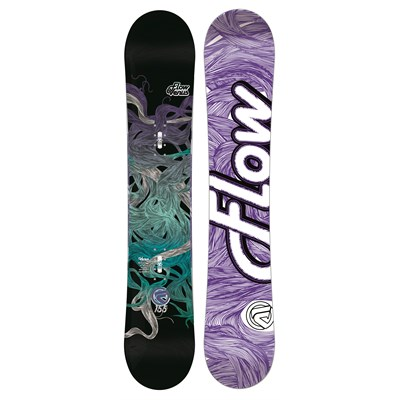 Flow Venus (Black) Snowboard - Women's 2013