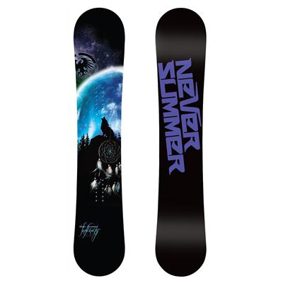 Never Summer Infinity Snowboard - Women's 2013