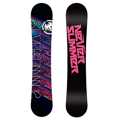Never Summer Pandora Snowboard - Women's 2013