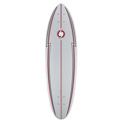 Surf One Silver Surfer Skateboard Deck
