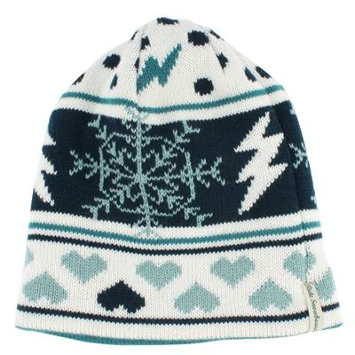 Ride Pattern Reversible Beanie - Women's