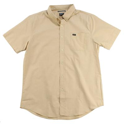 RVCA That'll Do Short Sleeve Button Down Shirt