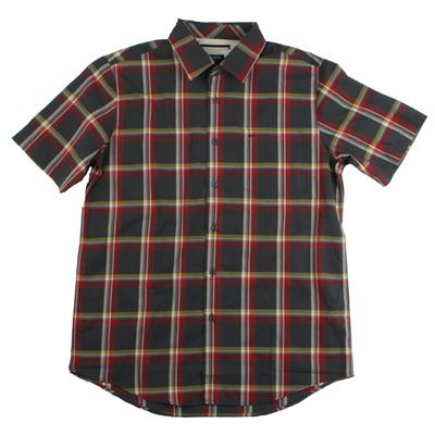 RVCA Firecracker Short Sleeve Button Down Shirt