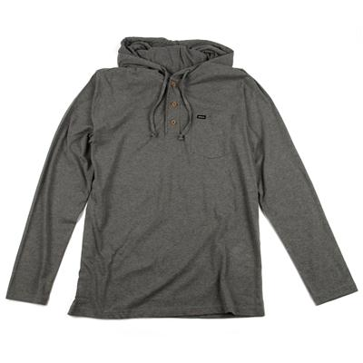 RVCA Liability Hooded Henley Shirt