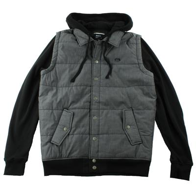 RVCA Puffer Chambray Fleece Jacket
