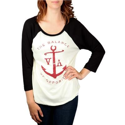 RVCA Anchor Opposites Raglan Top - Women's