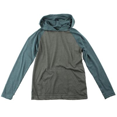 RVCA Castro Hooded Raglan Shirt - Youth - Boy's
