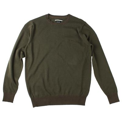 RVCA Mini Barge Crew Sweater - Youth - Boy's