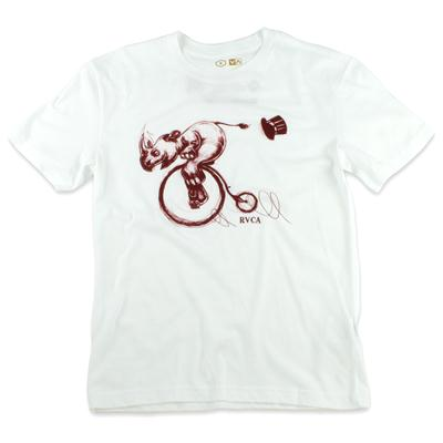 RVCA Rhino Charge T Shirt - Youth - Boy's