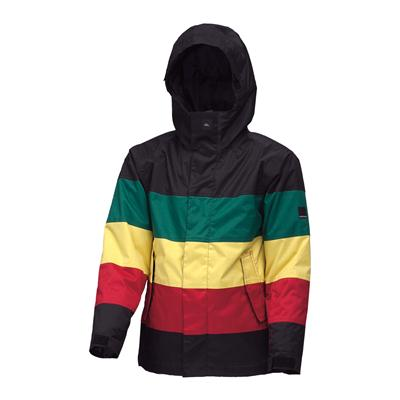 Quiksilver Fracture Jacket - Youth - Boy's