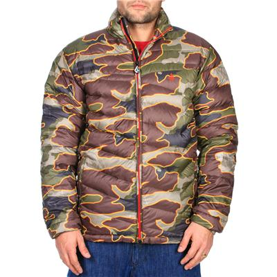 Volcom Camo Puff Puff Give Jacket