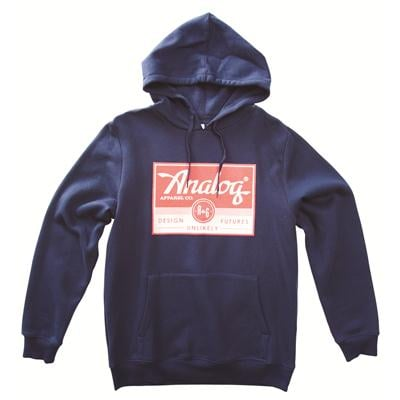 Analog A and G Registered Pullover Hoodie