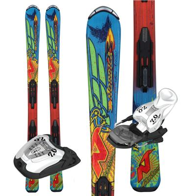 Nordica FireArrow Team Skis + M7.0 Bindings - Youth - Boy's  2013