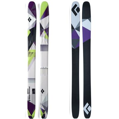 Black Diamond AMPerge Skis 2013