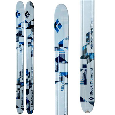 Black Diamond Carbon Megawatt Skis 2013