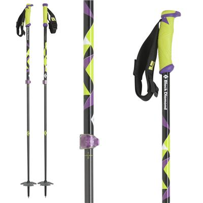 Black Diamond Carbon Probe Adjustable Ski Poles 2013