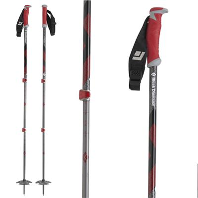 Black Diamond Expedition Adjustable Ski Poles 2013