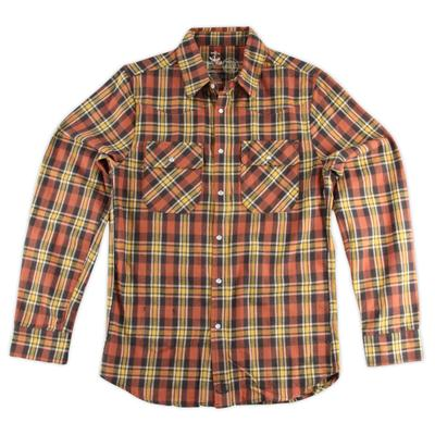 Altamont Mike Watt Flannel Button Down Shirt