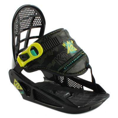 K2 Mini Turbo Snowboard Bindings - Youth - Boy's - Demo 2013