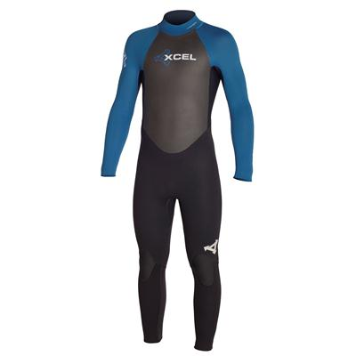XCEL SLX 3/2 Offset Zip Wetsuit - Youth