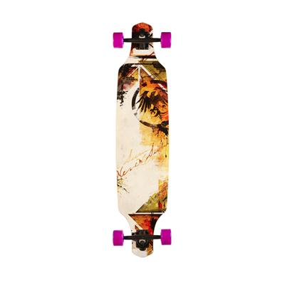 Never Summer Descent TM Longboard Complete