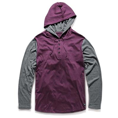 Kr3w Ever Hooded Henley Shirt