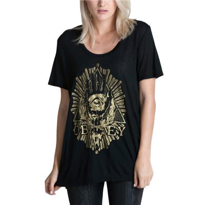 Obey Clothing All Eye T Shirt - Women's