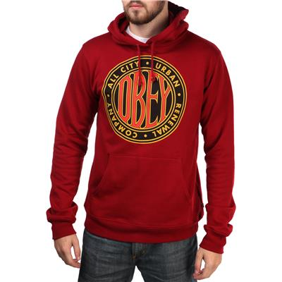 Obey Clothing Urban Renewal 2 Pullover Hoodie