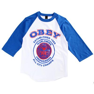 Obey Clothing All City Champs 2 Raglan Shirt