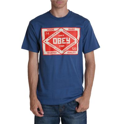 Obey Clothing Trademark T Shirt