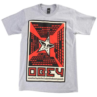 Obey Clothing Fire in the Sky T-Shirt