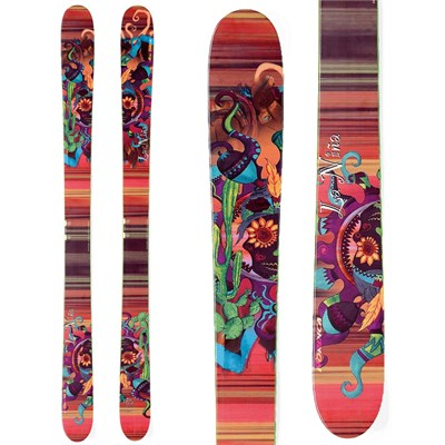 Nordica La Nina Skis - Sample - Women's 2013