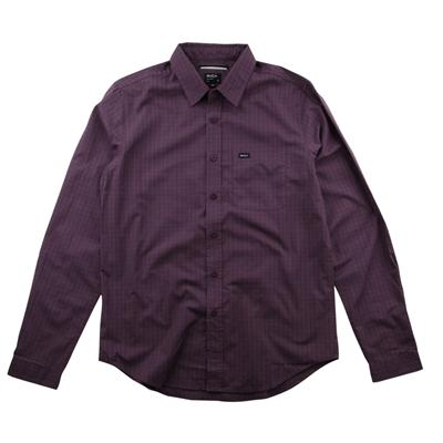 RVCA Borealis Long Sleeve Button Down Shirt