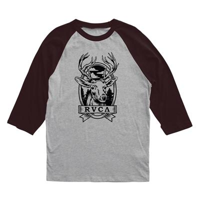 RVCA Deer Head Raglan Shirt
