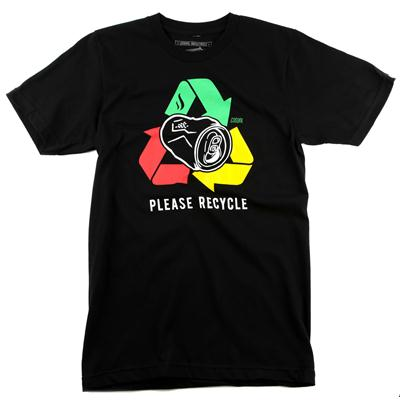 Casual Industrees Please Recycle T Shirt