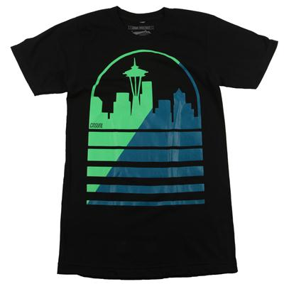 Casual Industrees Shadow Skyline T Shirt
