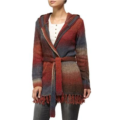 Quiksilver Sunset Lake Ombre Wrap Sweater - Women's