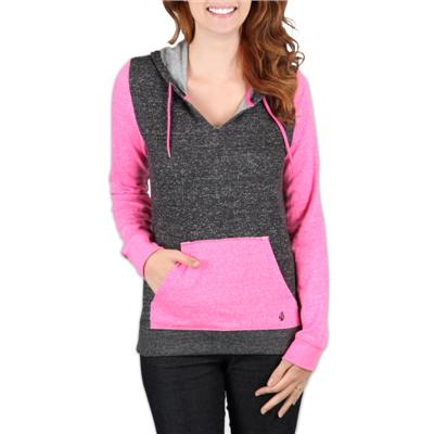 Volcom Stripe Stack Pullover Hoodie - Women's