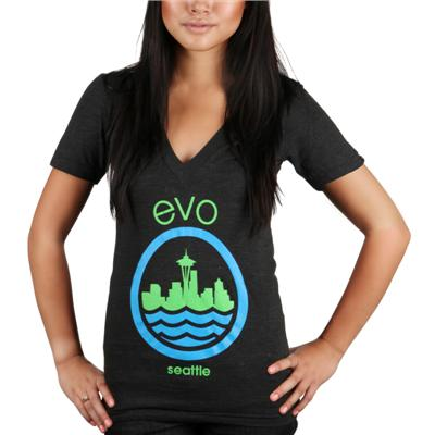 Casual Industrees evo Needle V-Neck T Shirt - Women's