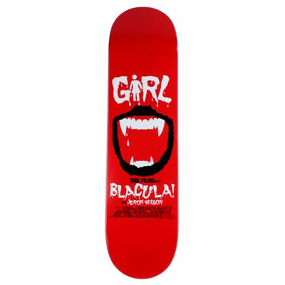 Girl Jeron Wilson Blacula Skateboard Deck