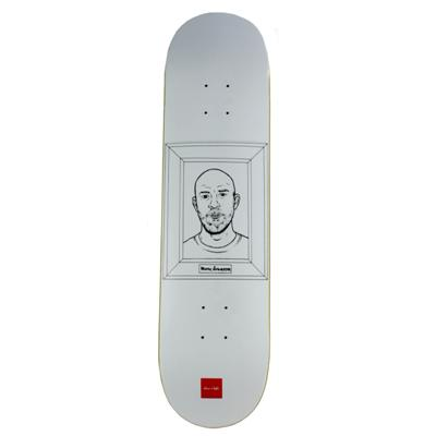 Chocolate Marc Johnson Coloring Book Skateboard Deck