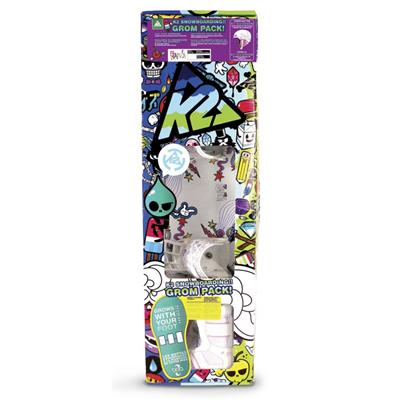K2 Lil Kandi Grom Snowboard Package - Youth - Girl's 2013